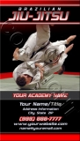 BJJ Armbar Business Card