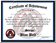 Blue Belt Stripes