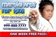 Kids Free Pass Flyer