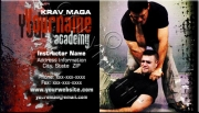 Krav Maga Business Card