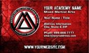 MCM Red Grunge Card