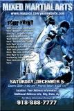 MMA Event Ice