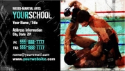 MMA School Business Card