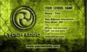 Yellow Grunge w/ Logo BC