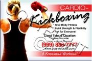 Cardio-Kickboxing Flyer