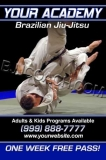 BJJ Armbar Blue Flyer