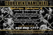 MMA Cage Event Flyer