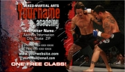 MMA Knockout Business Card