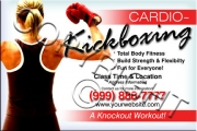 Cardio-Kickboxing Flyer